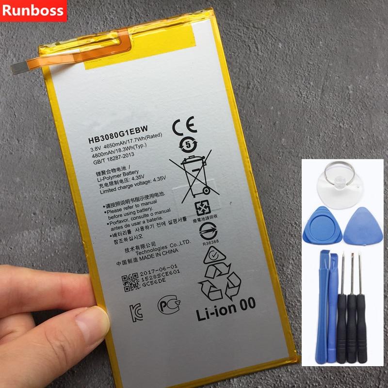 Original 4800mAh HB3080G1EBW Battery For Huawei MediaPad M2 8.0 / M2-801L / M2-801W / M2-802L / M2-803L BatteriesOriginal 4800mAh HB3080G1EBW Battery For Huawei MediaPad M2 8.0 / M2-801L / M2-801W / M2-802L / M2-803L Batteries
