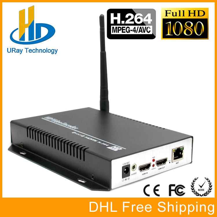 DHL Free Shipping HEVC H264 HDMI Video Audio Wireless RTSP RTMP Streaming Encoder H.264 HD Video To IP Stream Encoder IPTV h 264 mpeg 4 avc hdmi to dvb c encoder modulator with http rtsp rtmp hls