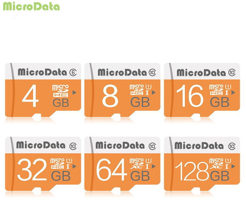 Micro sd-kaart 64 ГБ 128 ГБ tf-kaart SDHC/SDXC 16 ГБ 32 ГБ NIEUWE collectie geheugenkaart + розничная продажа pakket ...