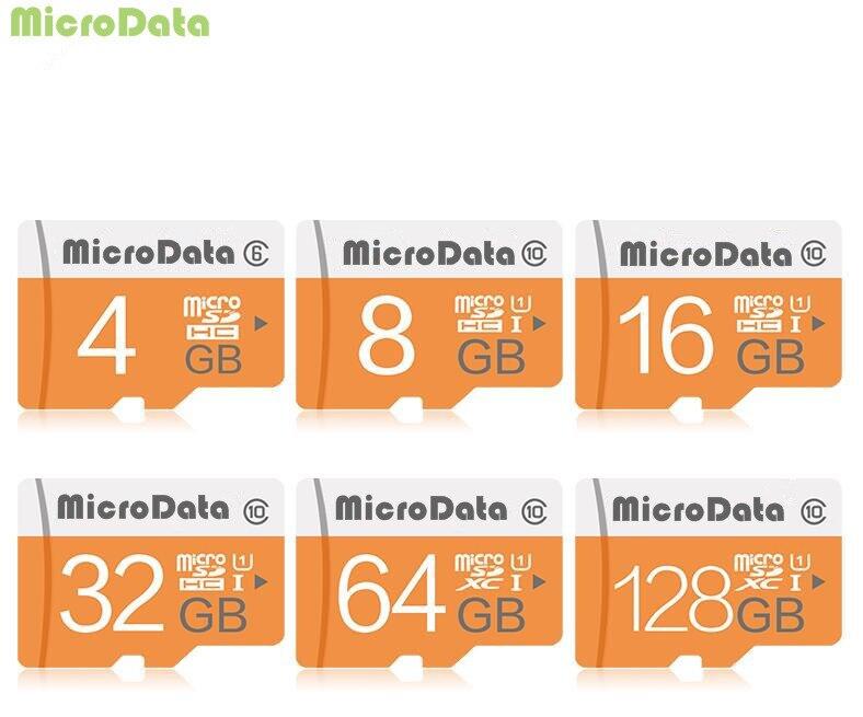 Micro sd-kaart 64GB 128GB tf-kaart SDHC/SDXC 16 gb 32GB NIEUWE collectie geheugenkaart + retail-pakket