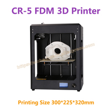 RQ-CR-5 Полный Собранный FDM 3D-принтеры широкоформатной печати Размеры 300*225*320 мм промышленного класса печатной платы с печать Материал