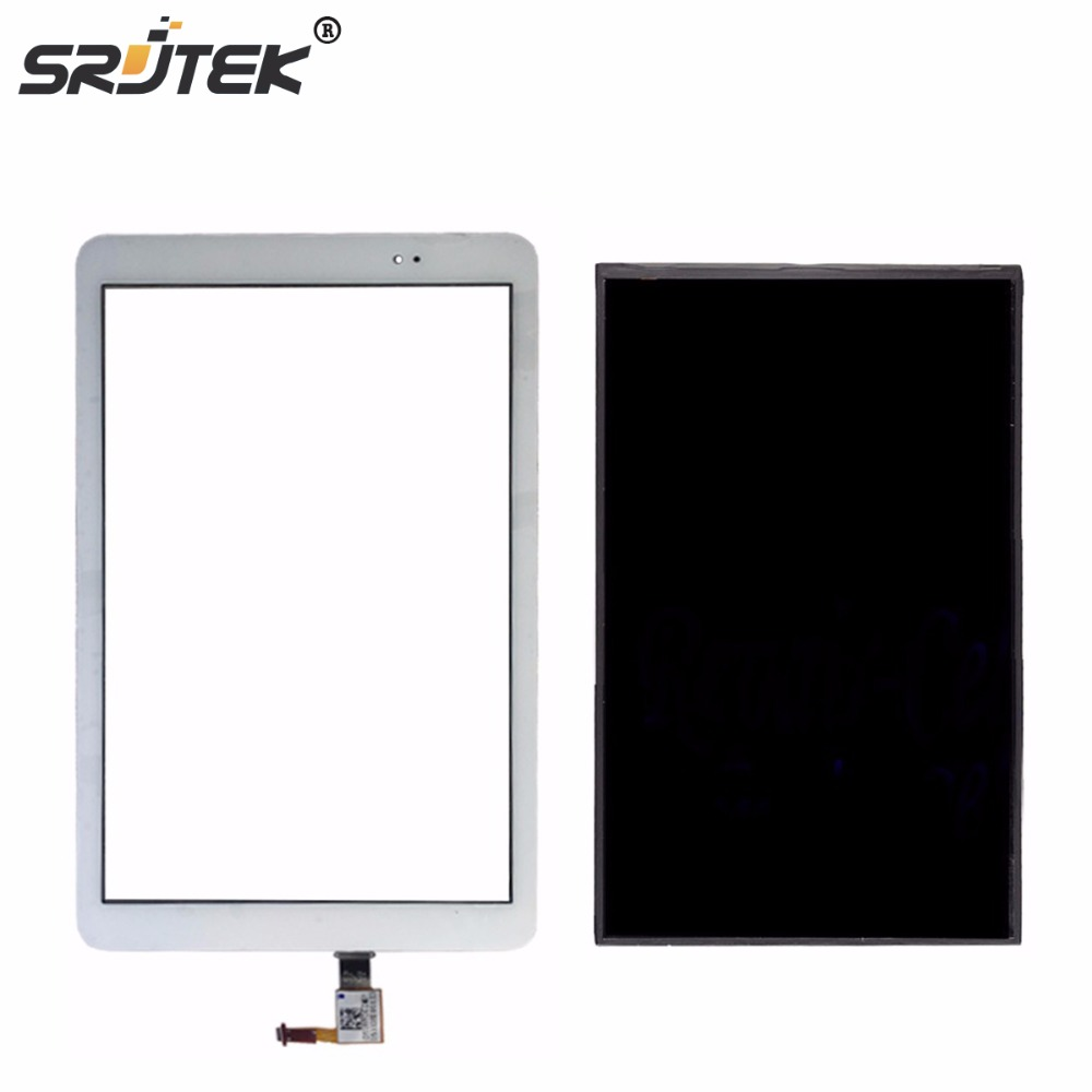 Srjtek 9.6 For Huawei Mediapad T1 10 Pro LTE T1-A21L T1-A22L T1-A21W LCD Display Touch Screen Digitizer Glass Panel srjtek for huawei t1 821l t1 821w t1 823l new lcd display screen touch screen digitizer glass replacement