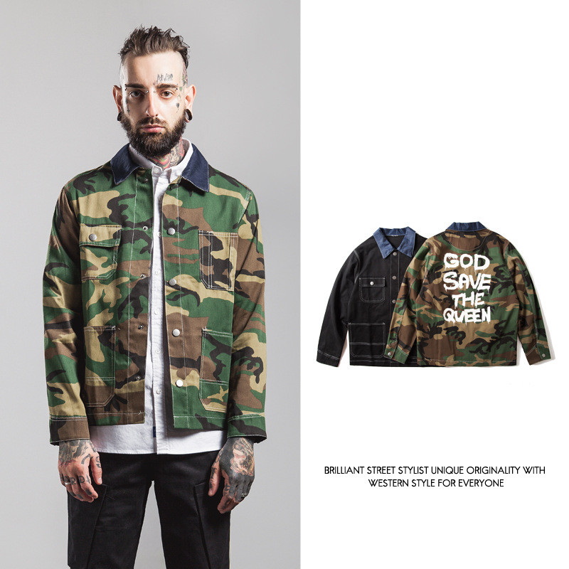 7d1441464576d RBBONE 2016 New Fashion Men Camo Jackets