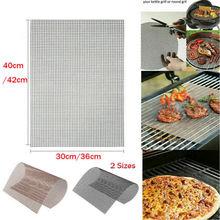 MINTIML GRILL MAT BBQ Grill Mesh Mat Non-Stick Cooking Sheet Liner AU