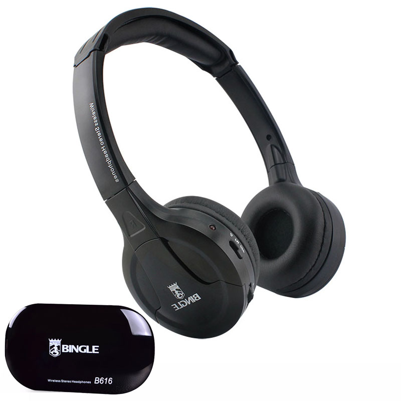 bilder für 2016 beste Ursprüngliche Bingle B616 Multifunktions stereo mit Mikrofon FM Radio für MP3 PC TV Audio Headset Kopfhörer