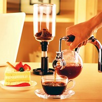 Glass Siphon Coffee Maker Coffee Pot Drip Coffee Maker 150ml Ice Cold Drop Kettle Kitchen Grinding Tool