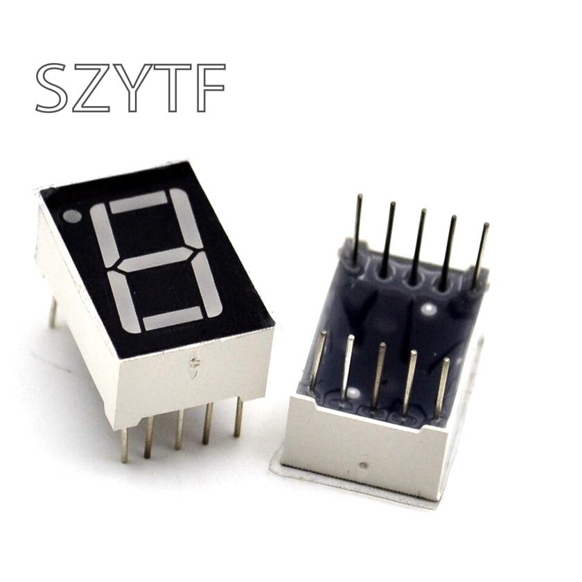 50pcs/1lot 1 Bit Common Cathode Digital Tube 0.56