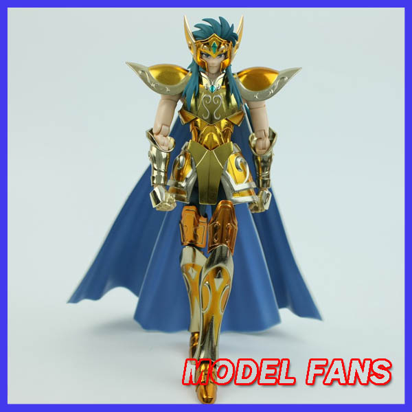 MODEL FANS IN-STOCK Metalclub metal club Aquarius Camus Model Saint Seiya metal armor Cloth Myth Gold Ex2.0 action Figure high quality gold soul saint seiya ex gold saint aquarius bottle camus model toys