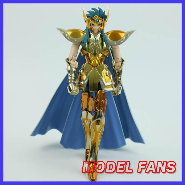 MODEL FANS IN-STOCK Metalclub Metal Club Aquarius Camus Model Saint Seiya Metal Armor Cloth Myth Gold Ex2.0 Action Figure