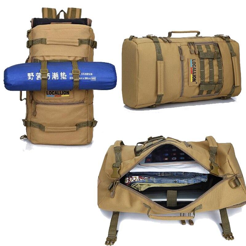 Hot Top qualité 50L nouveau militaire tactique sac à dos Camping sacs alpinisme sac hommes randonnée sac à dos voyage sac à dos - 5