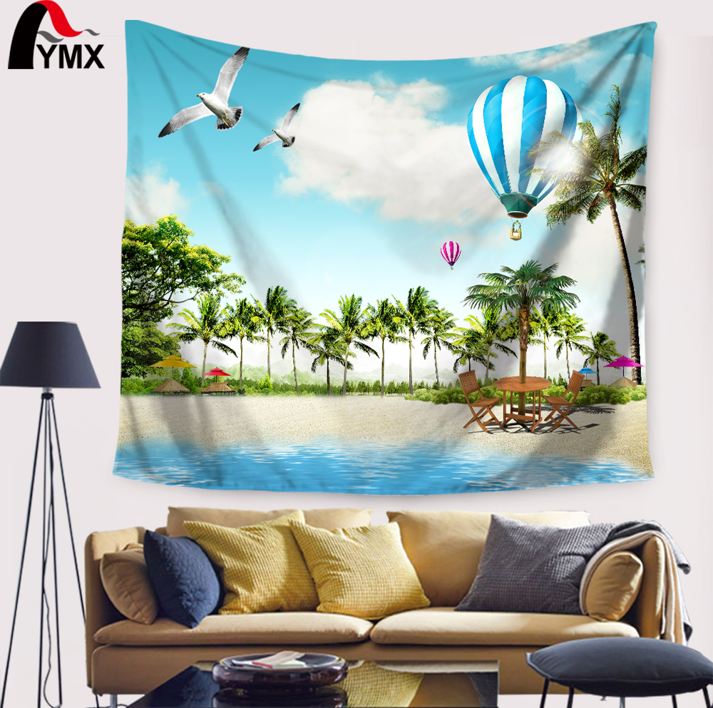 Online get cheap hippy tree aliexpress alibaba group beautiful summer beach coconut trees mandala tapestry wall hanging stickers scarf hippie wall hanging home decoration amipublicfo Gallery