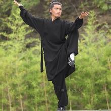 Custom Tailored 24 Colors Wudang Taoist Monk Robe Tai chi Uniform Chinese Kung fu Clothing Martial arts Suit