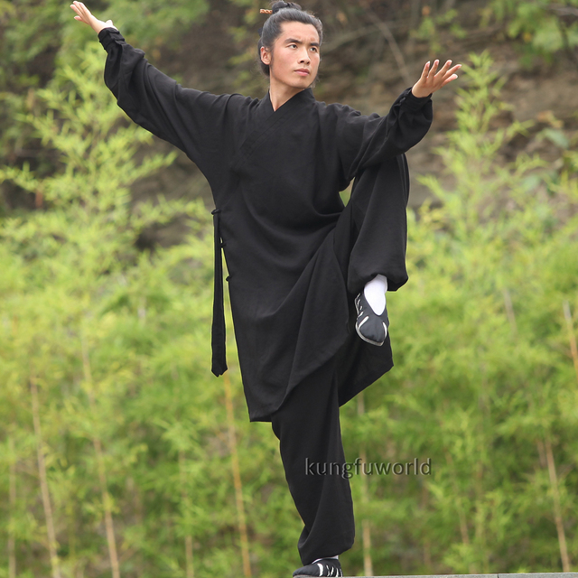 Custom Tailored 24 Colors Wudang Taoist Monk Robe Tai chi Uniform Chinese Kung fu Clothing Martial arts Suit