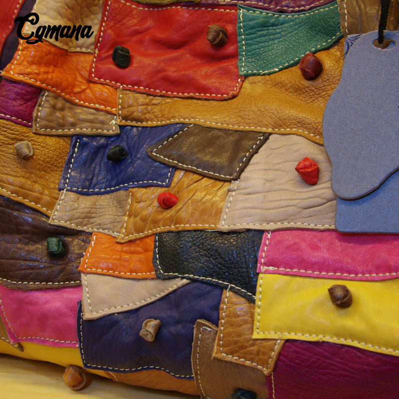 Cuir Style Véritable 100 Messenger Noir Sac Femmes À Couture Bandoulière Main En Doux Couleur National multi Sacs Irrégulière Cgmana HAFxnqwH