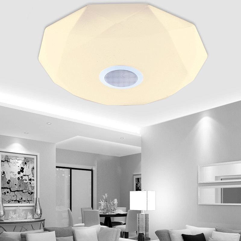 New arrival APP Bluetooth Music LED Ceiling Light Smartphone Dimming Starjewel Light Fixture LED Modern Lighting uf302 bluetooth telephone mtk6260 sync smartphone music address book