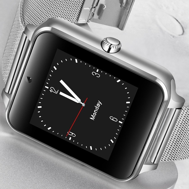 Unisex Stainless Steel Bluetooth Smart Watches