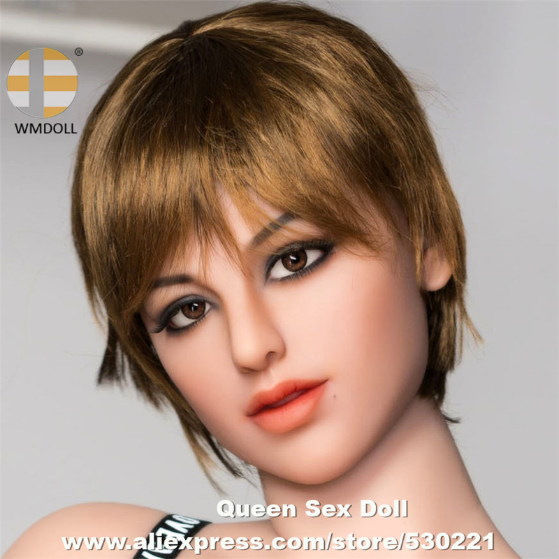 WMDOLL Top Quality Realistic Silicone Mannequins Head For Japanese Adult Doll Sexy Dolls Heads With Oral Sex Masturbator wmdoll sex doll head sexuel new 85 realistic silicone mannequins head for lifelike sex doll with oral sex products top quality