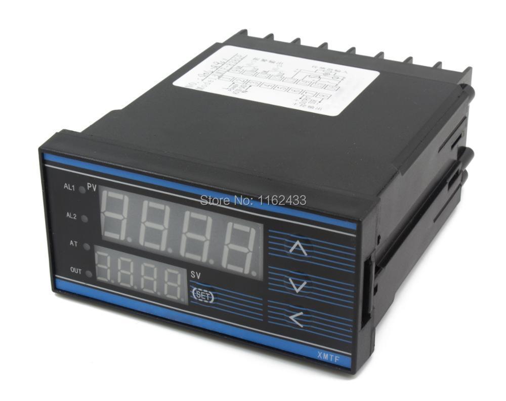 XMTF 8 ramp soak digital pid temperature controller can set multiple segments program relay SSR 0