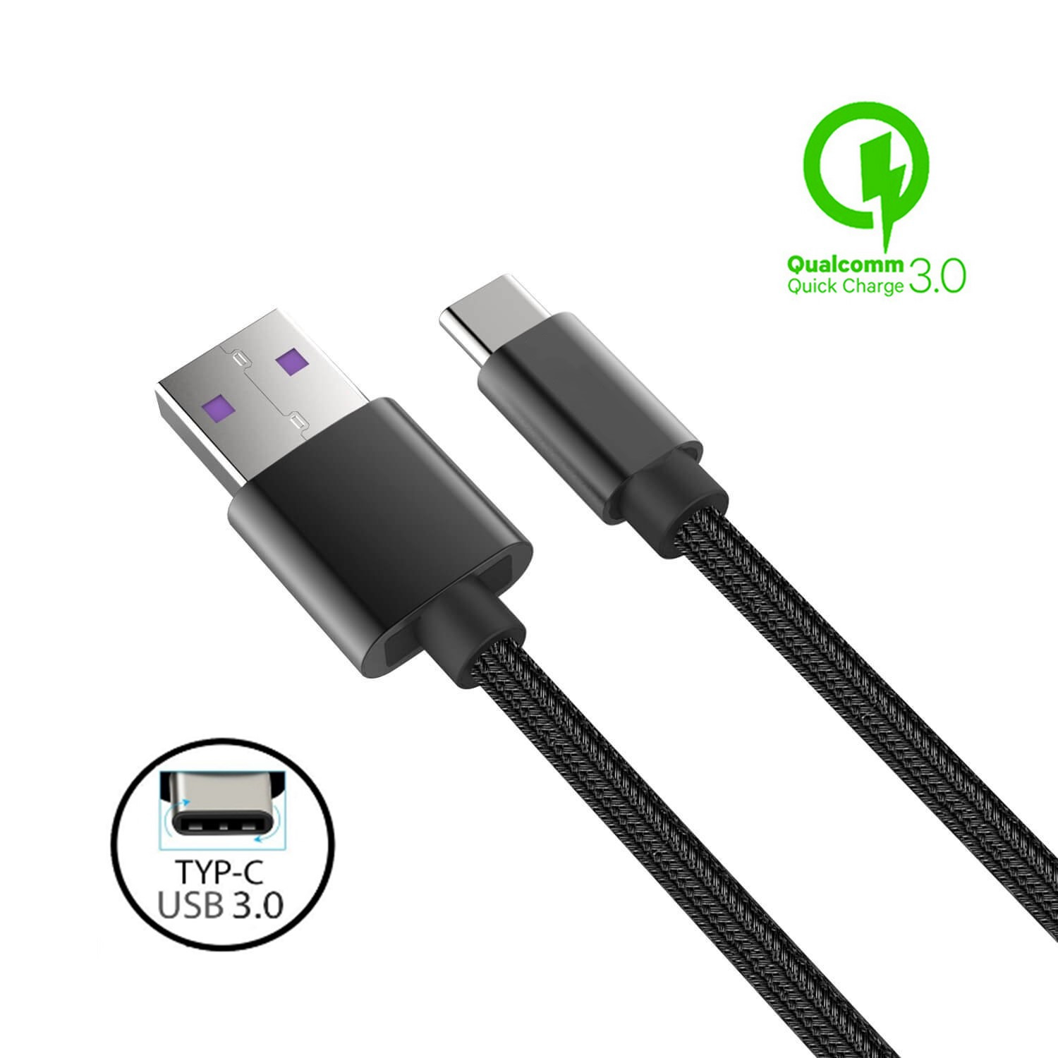 Quick Charging USB Data Power Charger Cable Cord Lead For Sony Xperia XA2 Ultra
