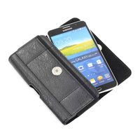 Horizontal Man Belt Clip Sports Artificial Mobile Phone Leather Case Card Pouch For VKworld T1 Plus