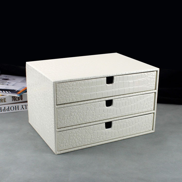 white desk with file drawer home office 3 drawer wood leather desk file cabinet 28557