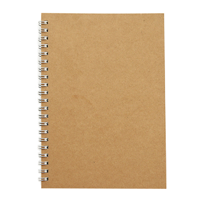 Simple Vintage 190x130mm 48 Sheets Spiral Notebook Daily Weekly Planner Book Time Management Planner School Supplies