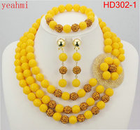 Free Shipping 2015 Fashion Red Coral Beads Jewelry Set Charms Red Twisted Strands African Jewelry Set
