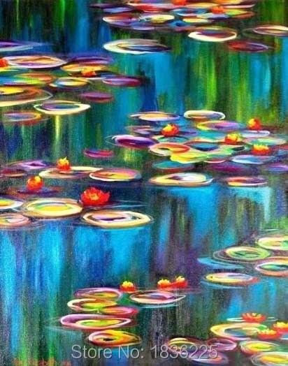 100% dipinto A Mano su tela quadri astratti vendita calda olio su ...