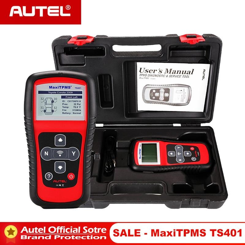 Autel MaxiTPMS TS401 TPMS Tool Programming MX Sensor OBD2 Scanner OBDII OBD 2 Car Diagnostic Tool Activate 315 433MHZ Sensor-in Code Readers & Scan Tools from Automobiles & Motorcycles