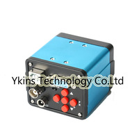Blue 3 in 1 HD Digital Industrial Microscope Set Camera Magnifier VGA USB AV TV Video output