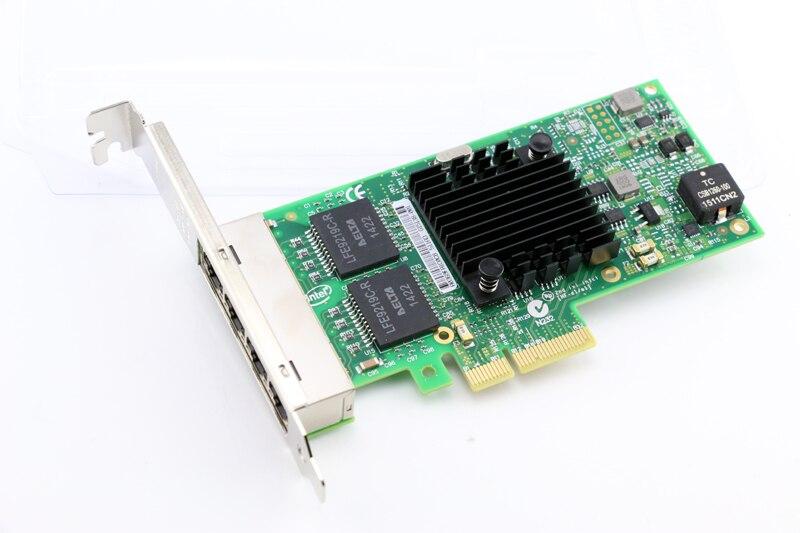 I350AM4 Chipset 10/100/1000M 4-Port RJ45 PCI Express Ethernet Server Adapter NIC