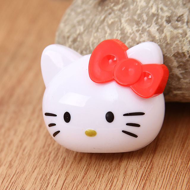 12PCS Baby Shower Souvenirs For Girl Cartoon Hello Kitty Pencil Sharpener  Favor Princess Party Gift Favors