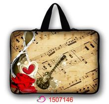 Guitar Music 15″ Laptop Carry Sleeve Case Bag Holder For 15.6″ Acer HP Dell ASUS Lenovo