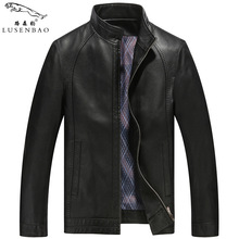 Motorcycle Leather Jacket High Quality New Style Brand Luxury Fashion Men's Leather Jacket  Business Casual Leather Jacket Men