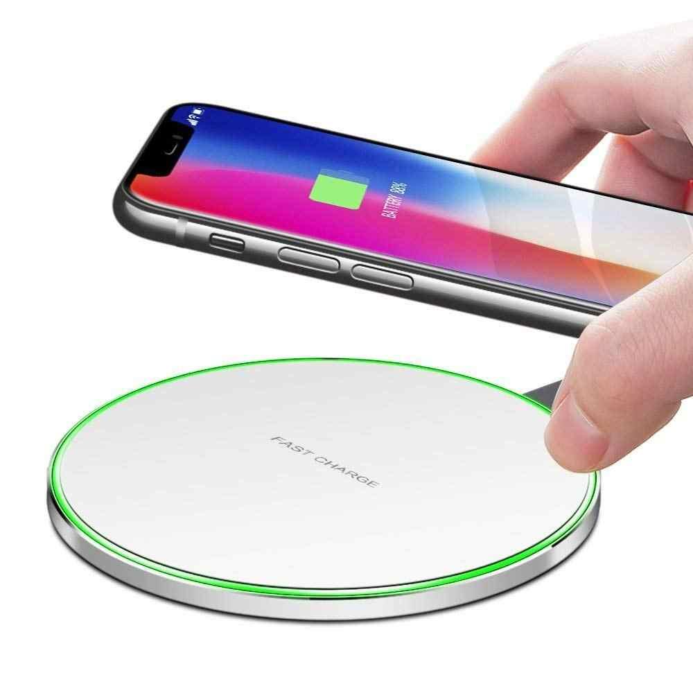 Qi Беспроводное зарядное устройство для iphone 8 Plus X Xs Max Xr зарядная док-станция Колыбель зарядное устройство USB для huawei mate 20 Pro P30 Pro Lite V30