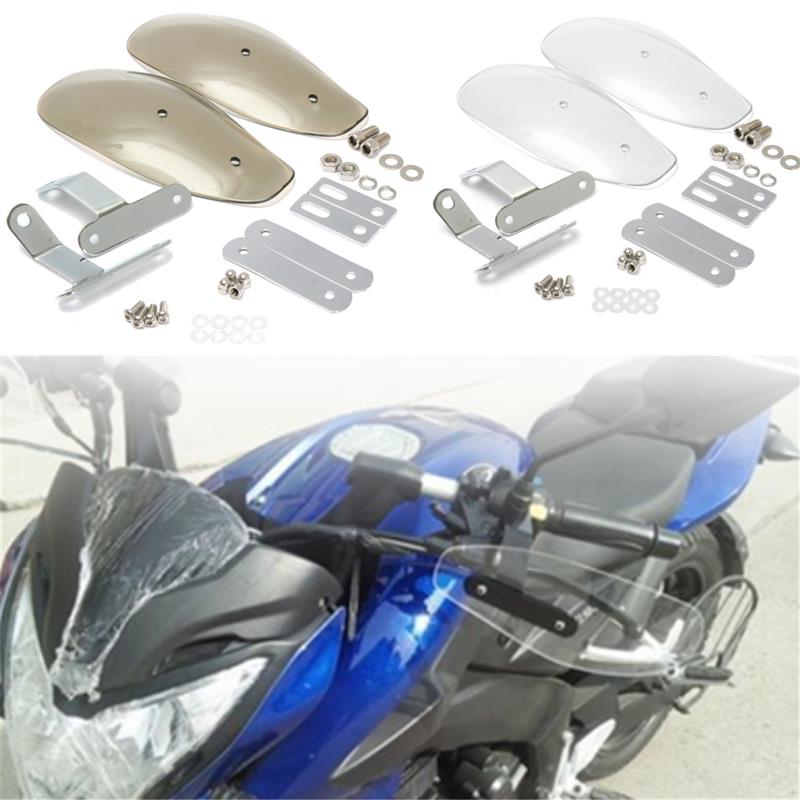 10mm Motorcycle Hand Guard Handguard Wind Protector Shield case for Honda yamaha suzuki kawasaki KTM Harley Touring