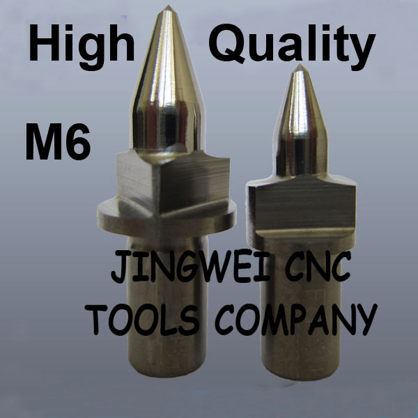 High quality Tungsten Carbide flow drill Flat type M6 flat form drill