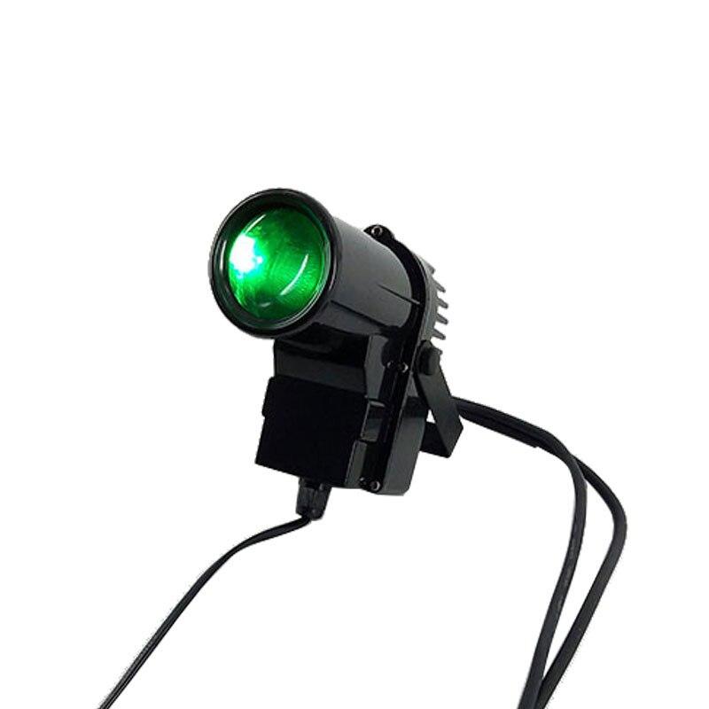 Expédition rapide LED 10 w RGBW Pinspot Lumière LED petit spot Quad LED 4/8 Canaux DMX, SHEHDS Éclairage de Scène