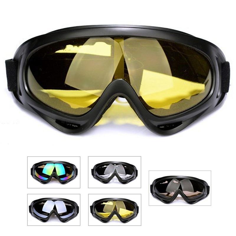 New Snowboard Dustproof Motorcycle ATV Dirt Bike Ski Adult Goggles Glasses Outdoor Sports Windproof Eyewear Glasses