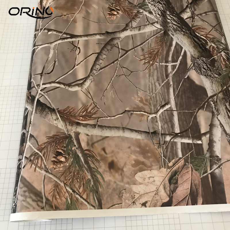 Image 3 - MATTE Realtree Camo Air Release Wrap Vinyl For Auto Truck Wraps Decals Size: 10/20/30/40/50X152CM-in Car Stickers from Automobiles & Motorcycles