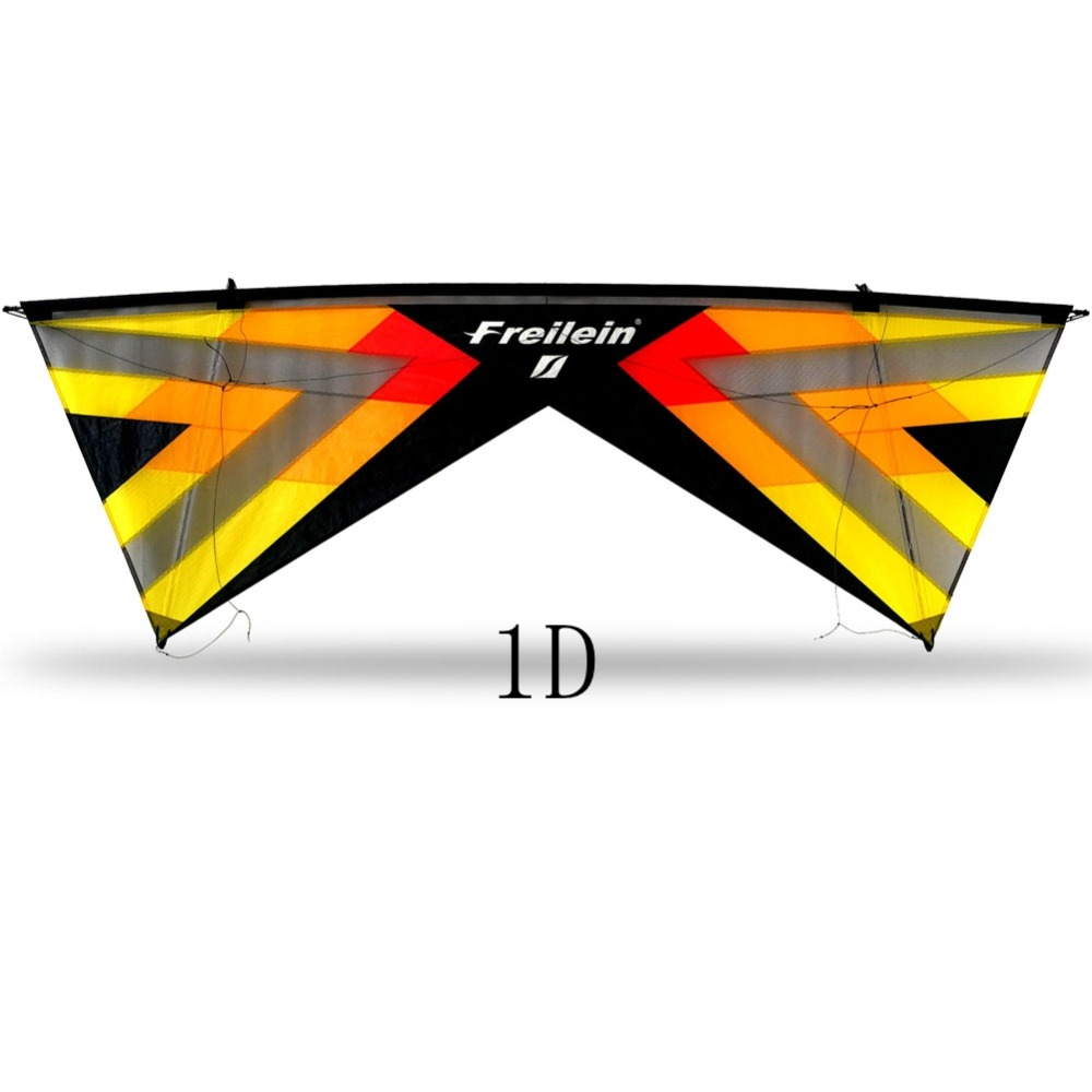 Professional Quad Line Stunt Kite 2.42M Easy To Fly Sport Kite Beach Park Flying 16 Colors Windrider X Vented Kite freilein windrider quad line stunt kite set outdoor power kite flying handles kite line string for competition show