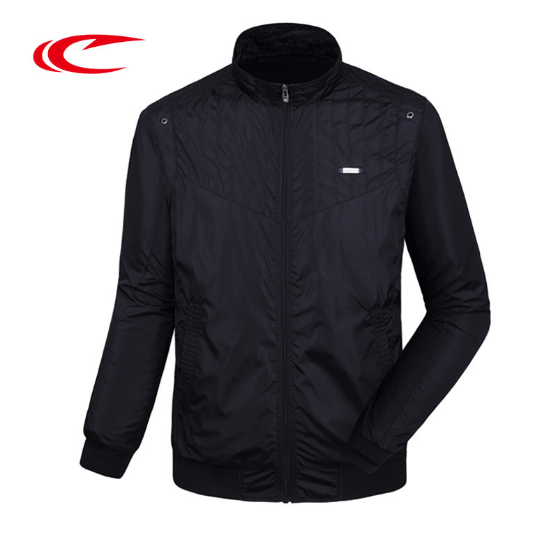 SAIQI Men Outdoor Golf Jacket Solid Stand Collar Jacket Sportwear Coat For Male Brand Original Design Zipper Windproof Jackets relish блузка