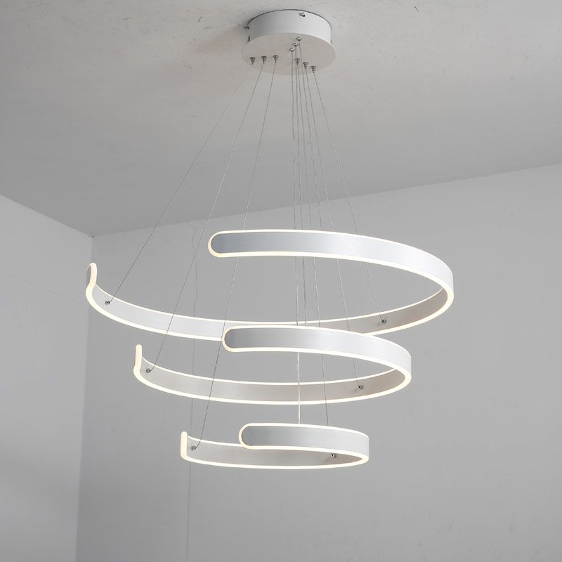 Stupendous Modern Led Pendant Light Fixtures Lustre Kitchen Living Room Dining Room Cord Hanging Lamp White Iron Decor Home Lighting 220V Best Image Libraries Thycampuscom