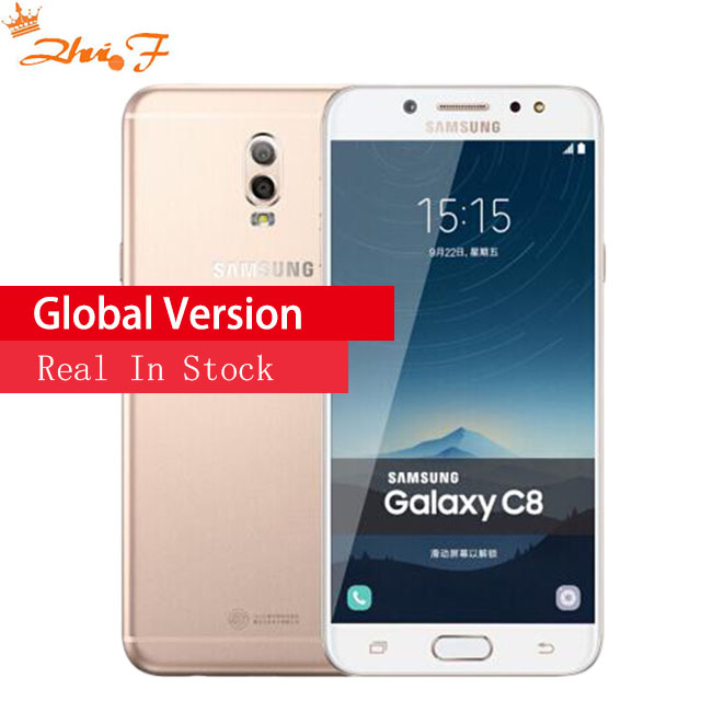 Galaxy C8 SM C7100 Super AMOLED FHD 3G 32gb 4g 64gb 16MP Front Camera dual sim
