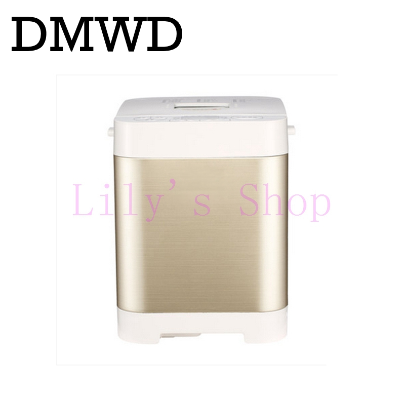 DMWD automatic bread Baking machine multifunction breadmaker intelligent toast Bread Maker yogurt toaster Cake Dough mixers EU цена