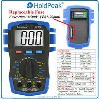 HoldPeak HP 37B Digital Multimeter Voltmeter Ohmmeter Ammeter Testeur Electrique
