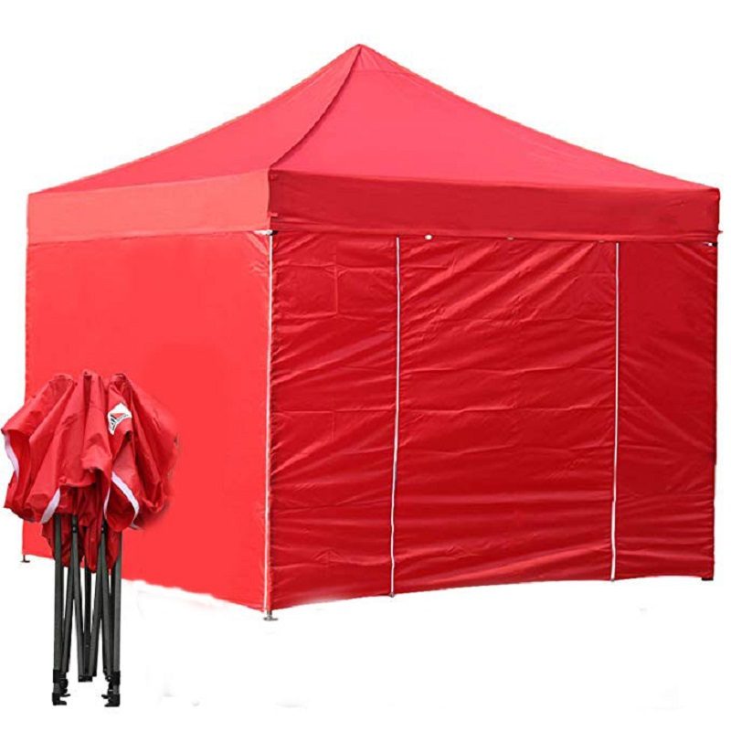 10ft By 10ft Comercial Canopy Easy Pop Up Tent Sporting Goods