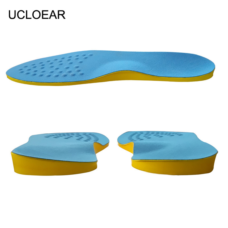 High Quality O-Leg Orthotic Shoe Pad Arch Support Insoles Foot Care Massage Shoes Pads Shock Absorbant Breathable Insole XD-042