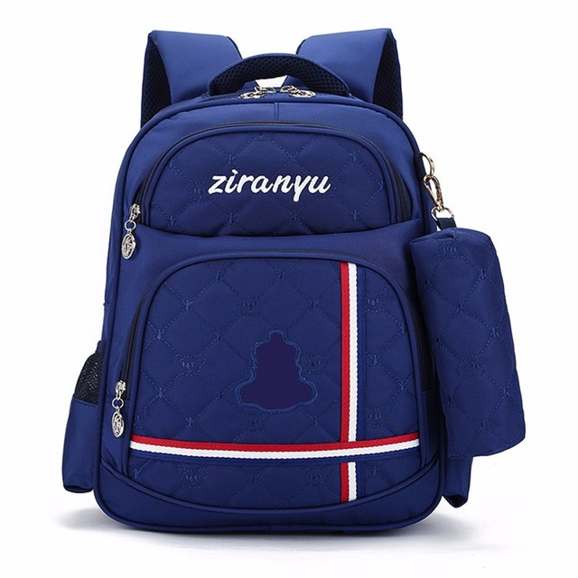 SchoolBag Primary school students Boys&Girl College Backpack laptop bag three Color Backpack Male Bolsa Mochila waterproof Book