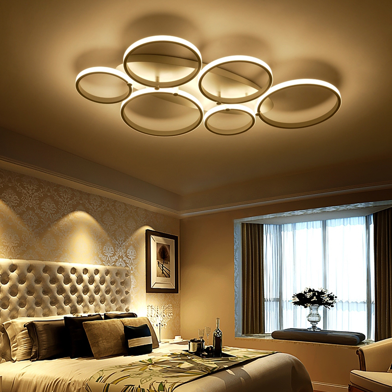 15 Ultra Modern Ceiling Designs For Your Master Bedroom: New Arrival Ultra Thin Living Room Modern Ceiling Lights
